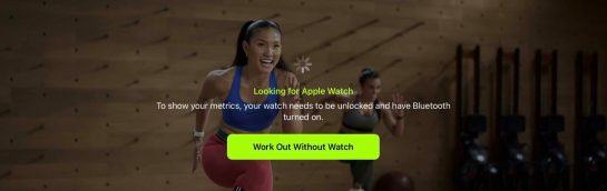 How to use Apple Fitness + without Apple Watch after registration