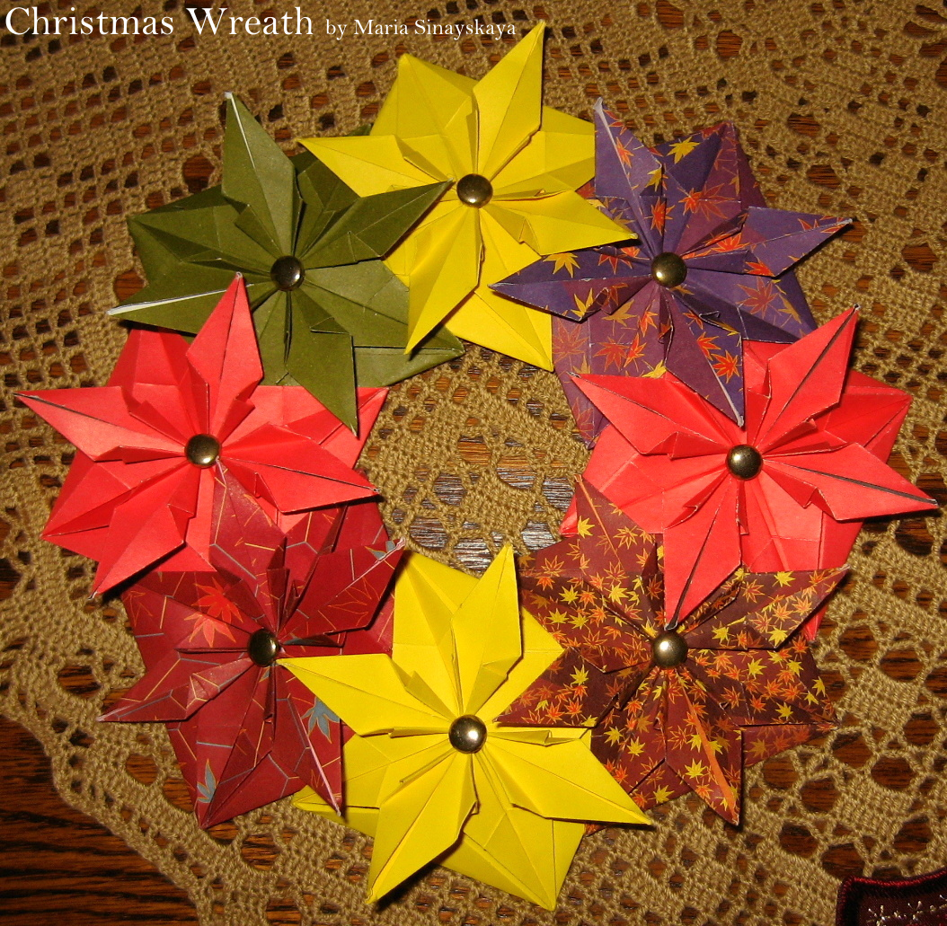 A Collection Of 20 Christmas Origami Models Origami