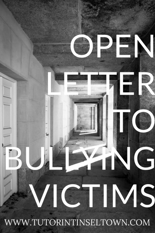 open letter to bullying victims