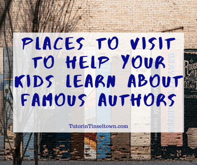 If you have a budding author in your family, then there are several places that you may consider taking him or her to help your kids learn about famous authors. These educational stops are a great way to encourage children to pursue their dreams. Even if your child is struggling, learning about famous people's struggles at the place that they occurred may encourage them.