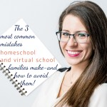 Homeschooling can go smooth like butter... but when it goes wrong... it can go SO wrong! I've been the primary educator for several homeschool and virtual school families. Some of them did an amazing job with it! And others... not so much. In today's episode, we're talking about the 3 most common mistakes homeschool and virtual school families make - and how to avoid them!