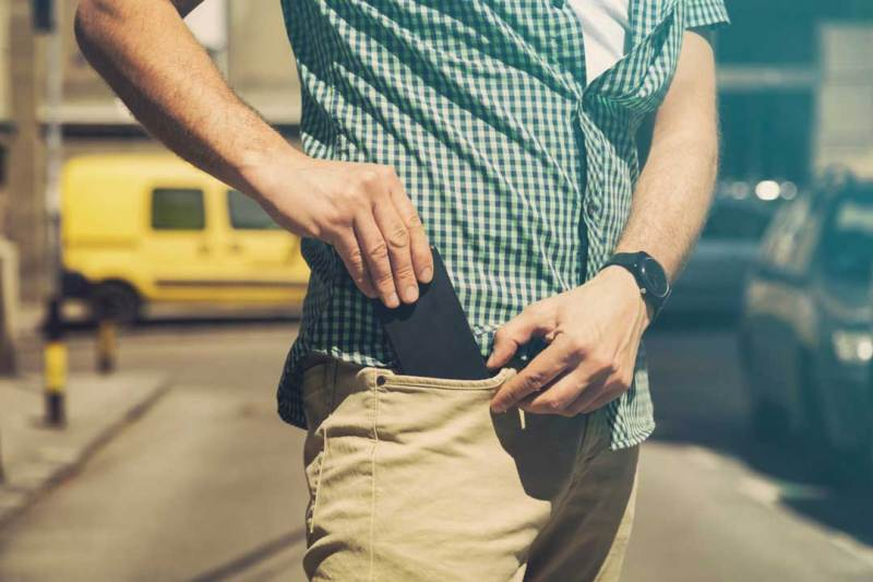 reduced fertility keeping smartphone in pant pocket