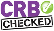 We are CRB checked