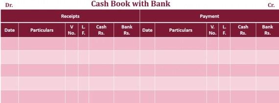 double column Cash book Example 2