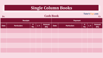 Single column Cash book feature image 1 - Financial Accounting Tutorial