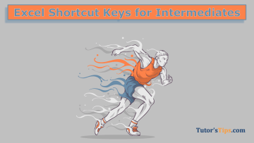 Excel Shortcut Keys for Intermediates 1 - Microsoft Excel Tutorial - Shortcut Key and Formulas