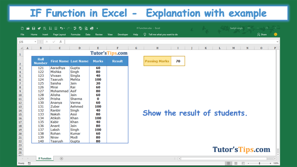 IF Function in Excel-Feature Image
