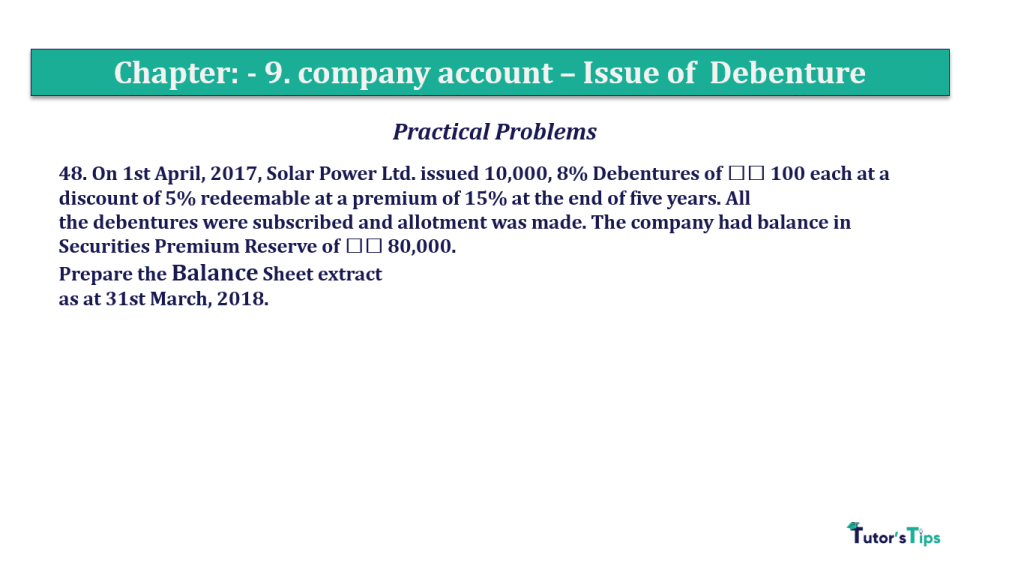 Question 48 Chapter 9 of +2-A