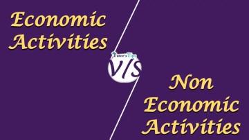 Economic and non economic act - Differences - Business Studies