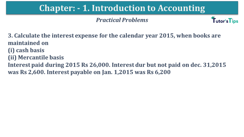 Question No 3 Chapter No 2