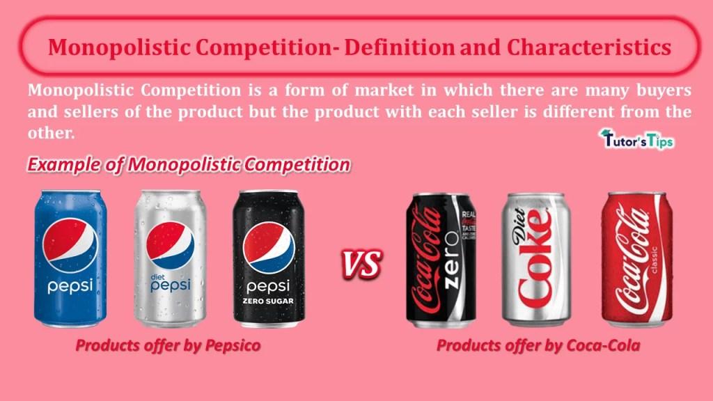 Monopolistic Competition- Definition and Characteristics-min