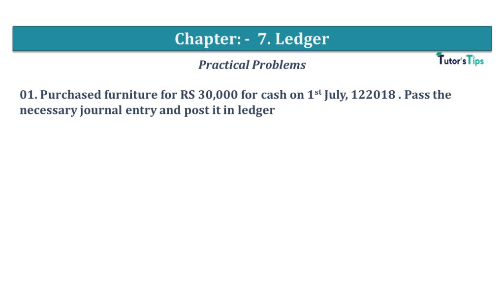 Question No 01 Chapter No 7