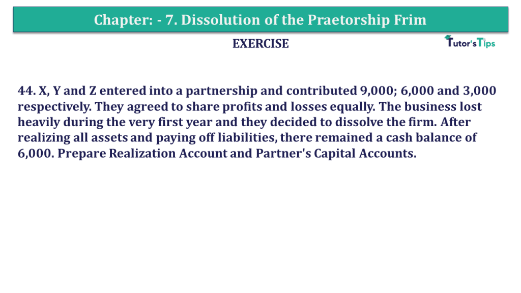 Question 44 Chapter 7of +2-A