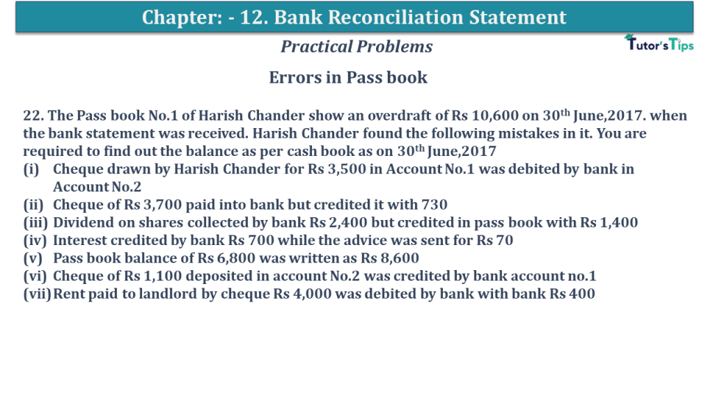 Question No 22 Chapter No 12