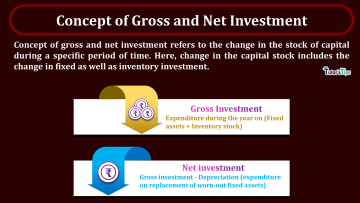 Concept of Gross and Net Investment min - Business Economics