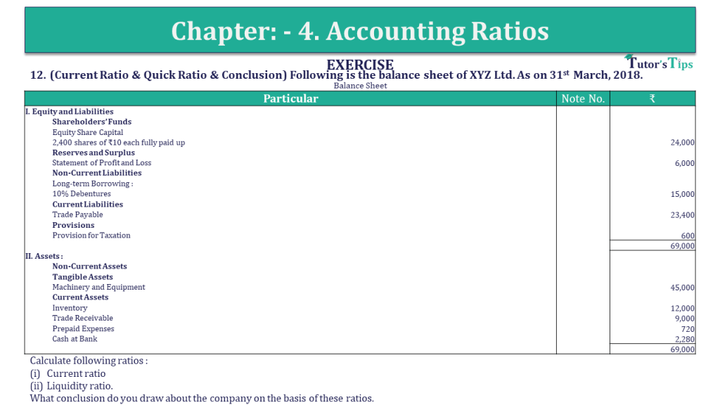 Question 12 Chapter 4 of +2-B