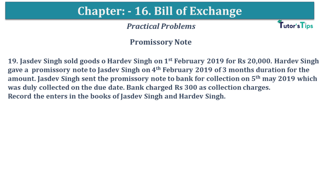 Question No 19 Chapter No 15
