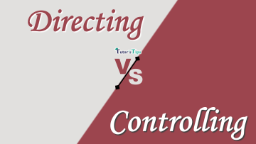Difference between Directing and Controlling min - Differences - Business Studies