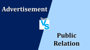 Difference Between Advertising And Public Relation min - Differences - Business Studies