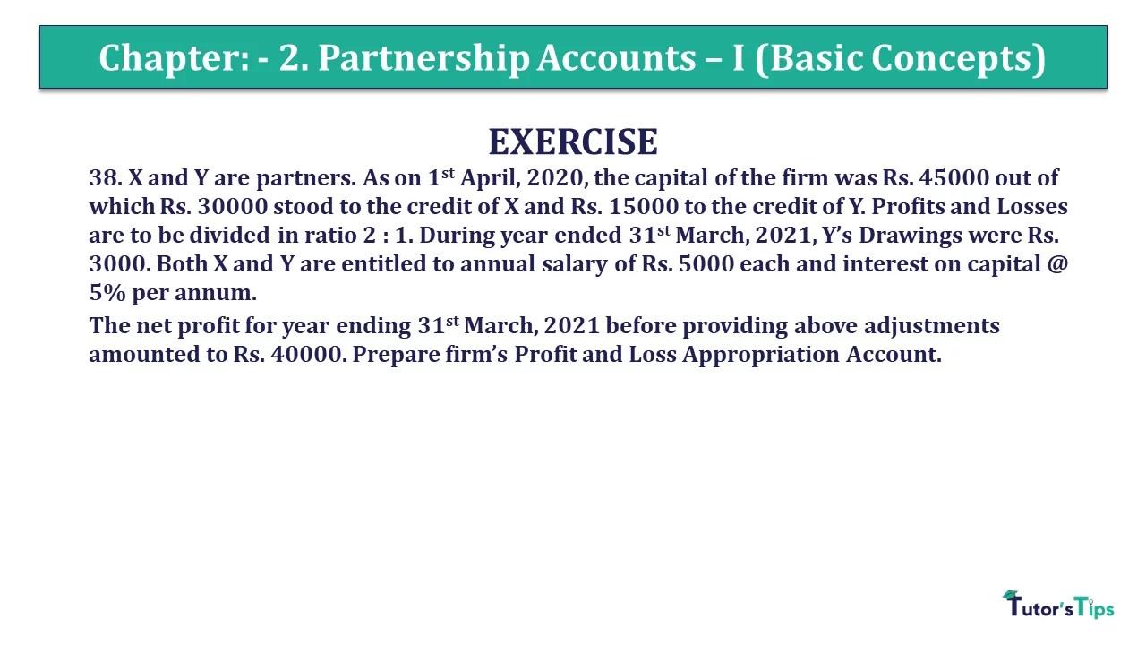 Question 38 Chapter 2 - Unimax Class 12 Part 1 - 2021
