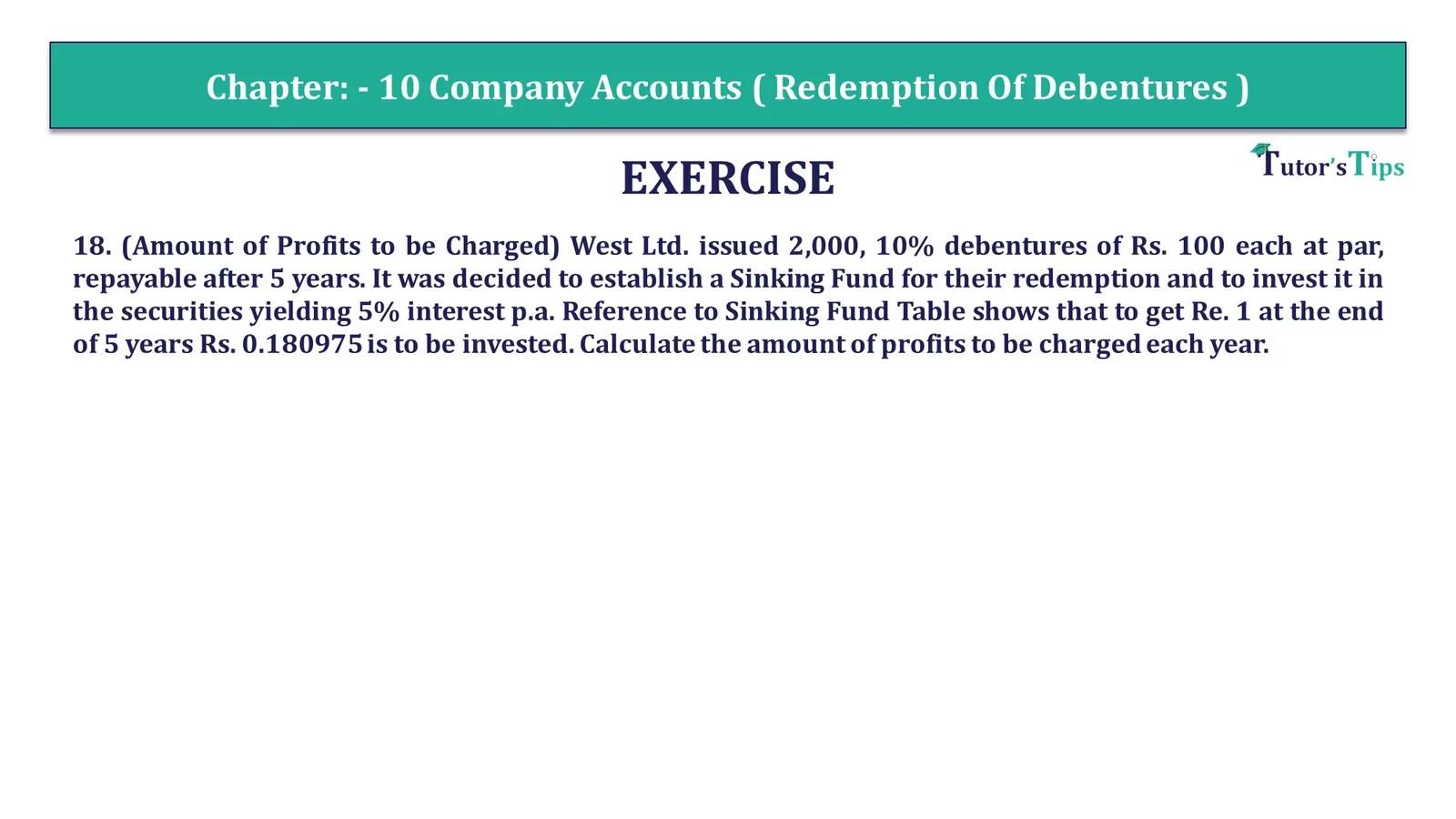 Question 18 Chapter 10 of +2-Part-1 - USHA Publication 12 Class Part - 1