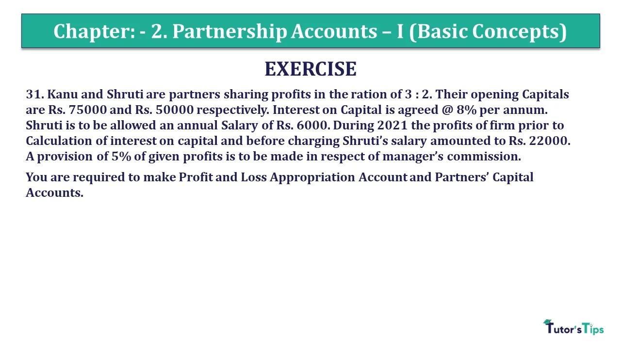 Question 31 Chapter 3 - Unimax Class 12 Part 1 - 2021