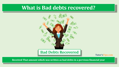 Bad debts recovered feature image