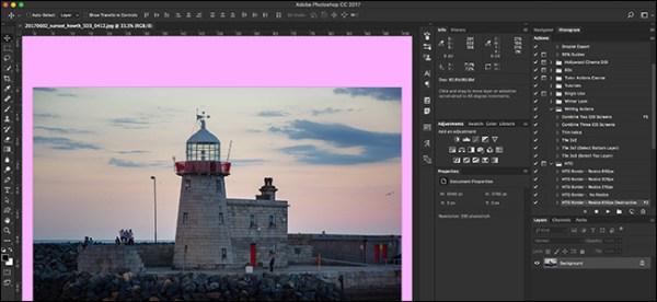 Как изменить цвет фона интерфейса в фотошопе