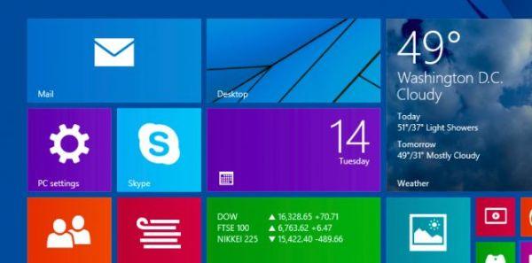 Как добавить настройки ПК на стартовый экран Windows 8.x