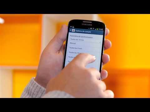 Tuto Android: configurer un compte e-mail – Mobistar