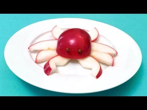 Collation Amusante: la Pomme-Crabe (HD)