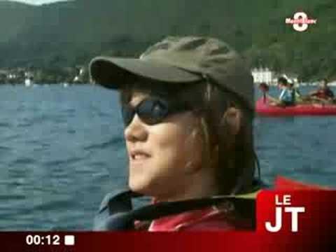 Kayak : initiation  au Club d'Annecy