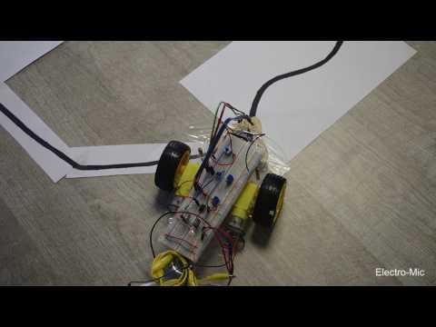 TUTORIEL Robot suiveur de ligne (sans arduino, sans ...
