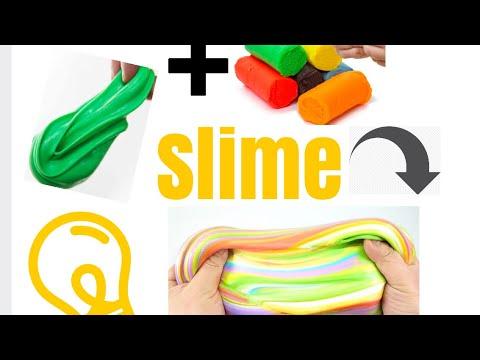 comment faire du slime avec de la p te a modeler sp cial 1000 abonn s. Black Bedroom Furniture Sets. Home Design Ideas