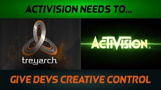 Treyarch Should Have FULL Creative Control Over Next COD 2018 (COD Black Ops 3 Gameplay)