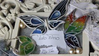 [♥✿ Tuto Fimo + Résine : Papillon ✿♥] ~ [♥✿ Polymer Clay Tutorial + Resin : Butterfly ✿♥]