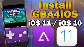 Install GBA4iOS Gameboy Emulator on iOS 11 / 10.0 – 10.3.3 (No Jailbreak / No PC) iPhone/iPod/iPad