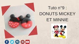 Tuto n°9 : Donuts MICKEY ET MINNIE