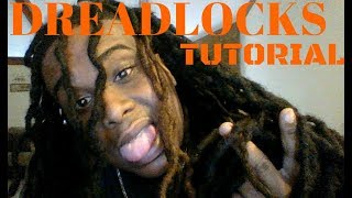 5 quick and easy dreadlock styles for men (Tutorial)