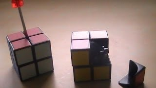 2×2 Rubik's Cube and V-Cube 2 Disassembly and Assembly Tutorial