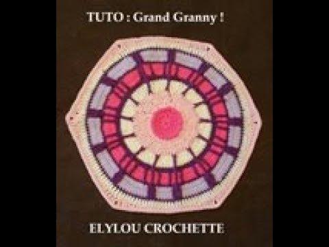 Tuto Crochet Granny Fleur Africaine N 3 Tutotube Fr Le Savoir