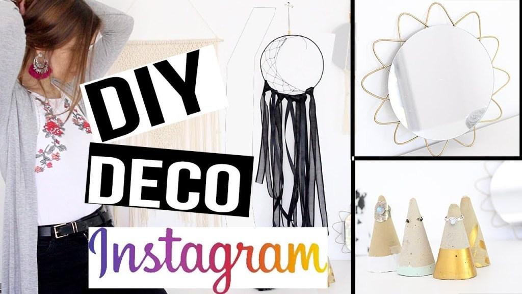 DIY ┋ JE COPIE LES TENDANCES DECO INSTAGRAM POUR TA CHAMBRE dès 0€ – room decor francais