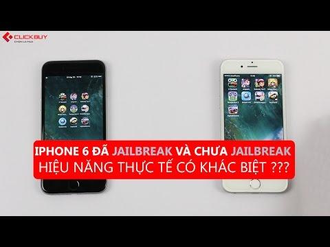 Clickbuy- Jailbreak chưa Jailbreak có làm hiệu năng của iPhone khác biệt ???