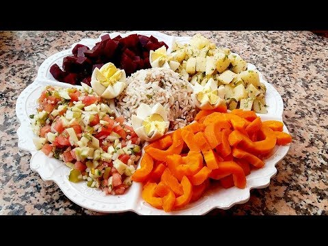 Salade Variée 5 Divers Saveurs Rafraichissante Facile et Rapide Cuisine Marocaine 123