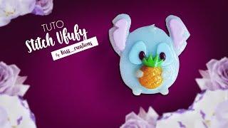 Nass_creations –  Tuto Stitch Ufufy Ananas Broche en Pâte Polymère