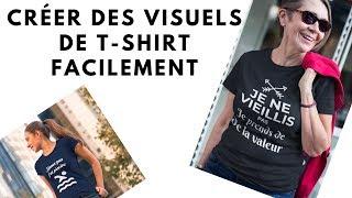 Test Du Service En Ligne Placeit.net – MockUp de T-shirt