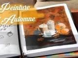 Drawing Journal: Peinture d'Automne 🍁
