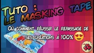 Tuto Masking Tape Fr Perles à Repasser Perler