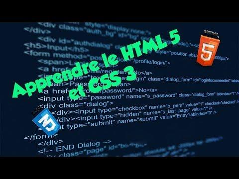 TUTO Programmer HTML5 / CSS3 #5 Les bases du CSS