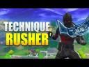 TECHNIQUE DE RUSH sur FORTNITE BATTLE ROYALE ! (ASTUCE)
